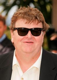 Michael Moore at the photocall of the movie
