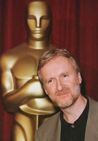James Cameron arrives at the annual Oscar nominees which is nominated for best directing for the epic film
