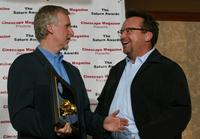 James Cameron and Tom Arnold at the 30th Annual Saturn Awards.