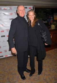 James Cameron and wife Suzy Amis at the Sixth Annual Celebration of New Zealand Filmmaking and Creative Talent Pre-Oscar Dinner party.