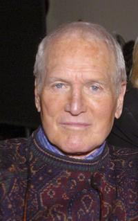 Paul Newman at the Good Morning America about an upcoming benefit and charity auction for Newmans's non-profit