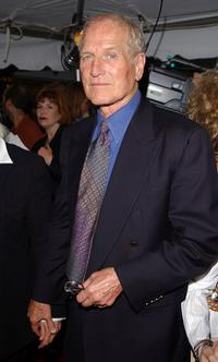 Paul Newman at the premiere of