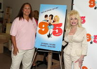 Patricia Resnick and Dolly Parton at the
