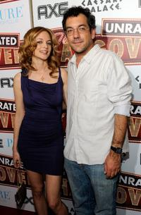 Heather Graham and Todd Phillips at the DVD launch party of