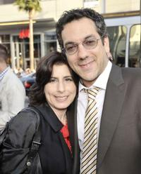 Sue Kroll and Todd Phillips at the premiere of