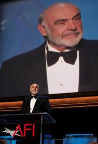 Sean Connery at the 35th afi Life Achievement Award tribute to Al Pacino.