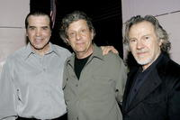 Chazz Palminteri, Barry Primus and Harvey Keitel at the play