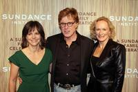 Robert Redford, Glenn Close and Sally Field at The Sundance Institute's 26th Annual Celebration.