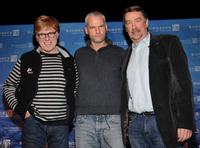 Robert Redford, Martin McDonaghat and Geoffrey Gilmore at the 2008 Sundance Film Festival for Opening Day Press Conference.