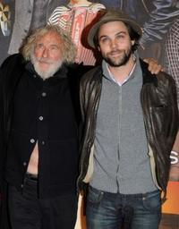 Pierre Richard and Arthur Jugnot at the premiere of