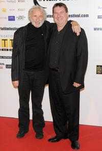 Pierre Richard and Remy Girard at the photocall of