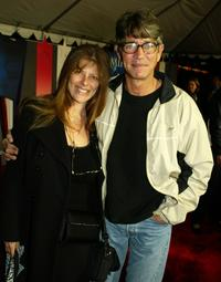 Eric Roberts and his wife Elisa at the premier of