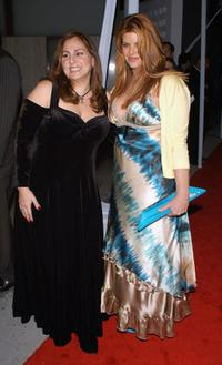 Kirstie Alley and Kathy Najimy at the premiere of