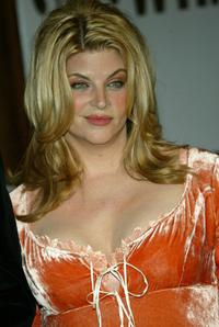 Kirstie Alley at the Showtime Network post 56th Annual Primetime Emmy Party.
