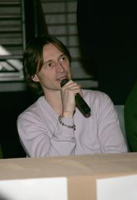 Robert Carlyle at the press conference for Marilyn Hotchkiss Ballroom Dancing and Charm Schoo at the Village at the Lift during the 2005 Sundance Film Festival.