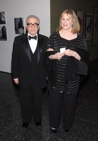 Martin Scorsese and Helen Scorsese at the MoMA's 39th Annual Party.