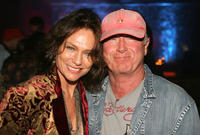 Jacqueline Bisset and Tony Scott at the after party of California premiere of