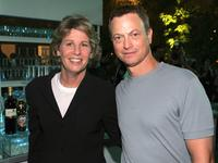 Gary Sinise and Nancy Tallem at the