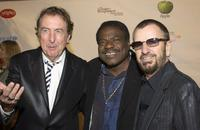 Eric Idle, Billy Preston and Ringo Starr at the gala screening of