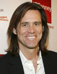 Jim Carrey at the launch party for Chip and Pepper's C7P denim line.