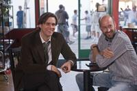 Jim Carrey and Director Peyton Reed on the set of