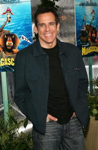 "Ben Stiller at the premiere of ""Madagascar"" in New York City."