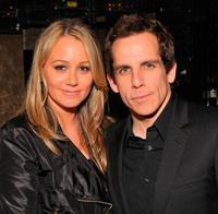 Ben Stiller and Christine Taylor at the after party of