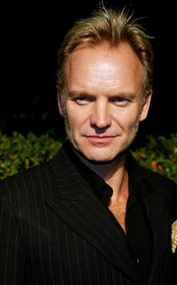 Sting at the Miramax's Annual Max Awards Pre-Oscar party.