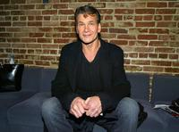 Patrick Swayze at the after party of the premiere of