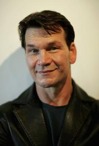 Patrick Swayze at the photocall to promote latest version of West End musical