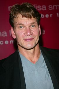 Patrick Swayze at the world premiere of