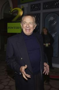 Jack Carter at the Shrek 2 DVD release party.
