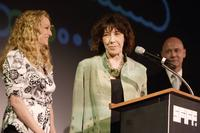 Lily Tomlin and Virginia Madsen at the closing night of the 49th San Francisco International Film Festival.