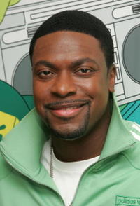 Chris Tucker on MTV's Total Request Live in N.Y.