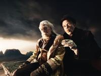 Christopher Plummer as Doctor Parnassus and Tom Waits as Mr. Nick in