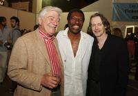 Seymour Cassel, Vondi Curtis and Steve Buscemi at the premiere of Focus Features'