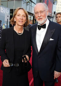 Samantha Winslow and John Williams at the 33rd AFI Life Achievement Award in California.