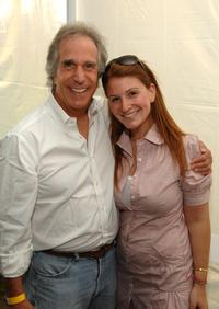 Henry Winkler and Guest at the