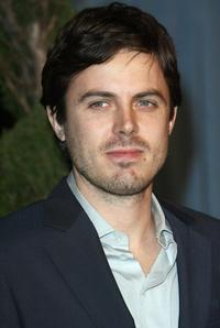 Casey Affleck at the annual Academy nominees luncheon.