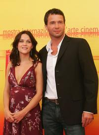 Reese Witherspoon and James Purefoy at the photocall of