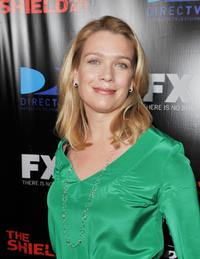 Laurie Holden at the screening of