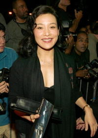 """Joan Chen at a screening of """"Master and Commander: The Far Side Of The World"""" in New York City."""