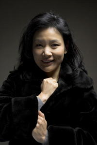 """Joan Chen at a portrait session to promote the movie """"The Home Song Stories"""" in Berlin, Germany."""