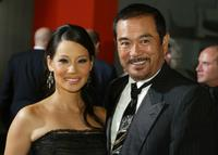 Sonny Chiba and Lucy Liu at the Los Angeles premiere of