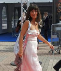 Romane Bohringer at the projection of