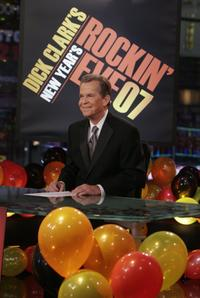 Dick Clark at the 35th anniversary showing of Dick Clark's New Year's Rockin' Eve.