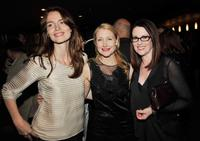Saffron Burrows, Patricia Clarkson and Megan Mullally at the after party of the California premiere of