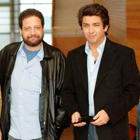Director Fabian Bielinsky and Ricardo Darin at the photocall of