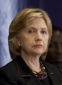 Hillary Rodham Clinton at the Gathering of World Leaders at U.N. General Assembly.