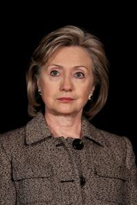 Hillary Rodham Clinton at the Afghanistan Conference in London.